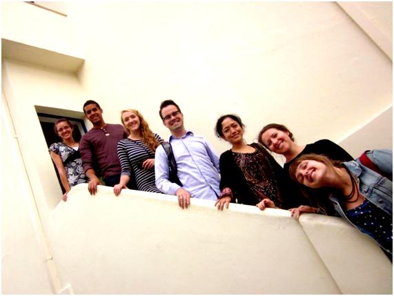 BYU: Recebemos cinco estudantes da BYU em uma parceria feita entre o IEB e a Universidade Brigham Young. Além do trabalho com os arquivos pessoais de escritores, no dia 17/07 visitamos a Casa de Mário de Andrade!