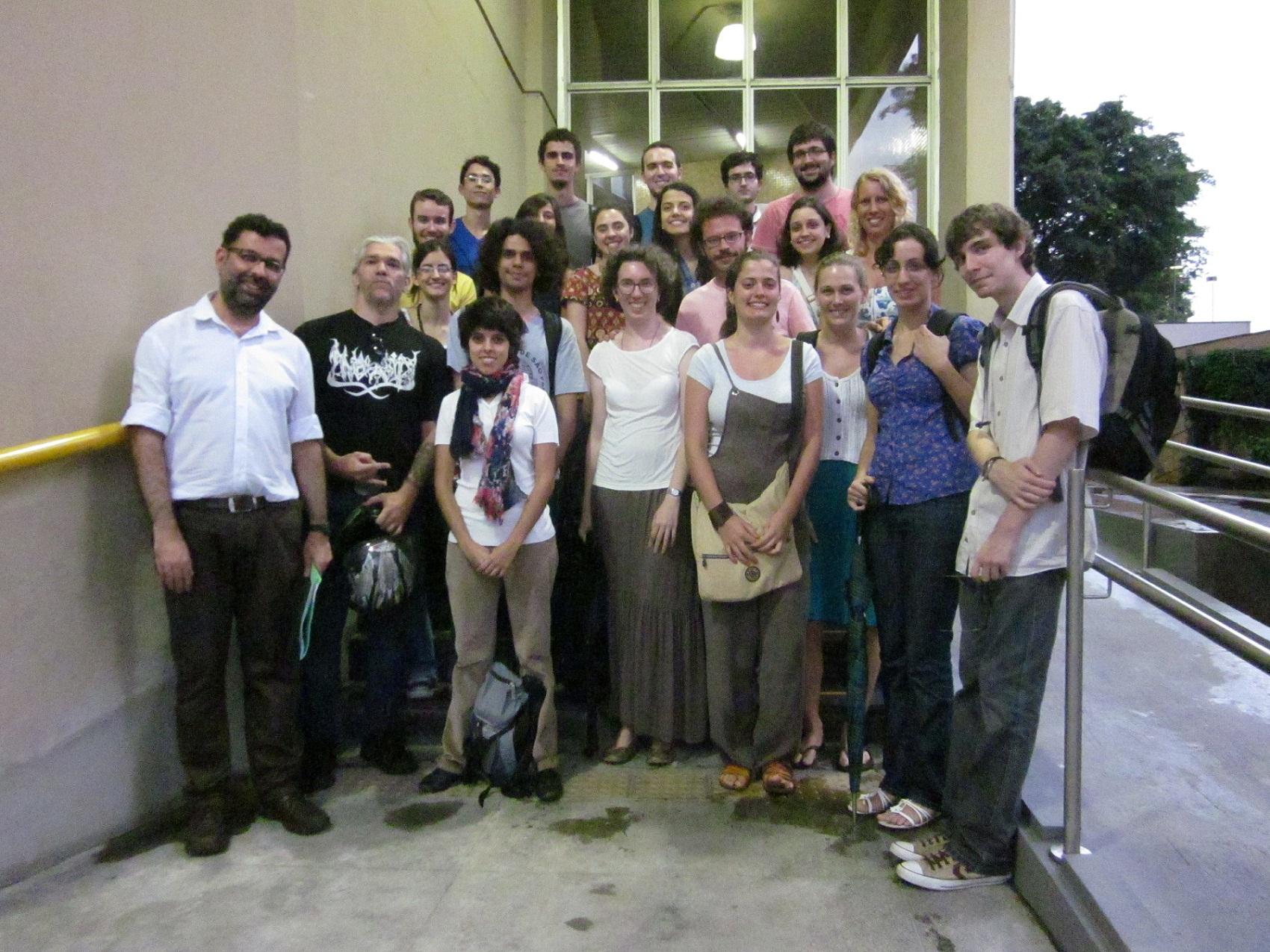 QUANDO A HISTÓRIA FAZ NOTÍCIA: No dia 22 de fevereiro, a equipe do Arquivo visitou o Acervo Estadão. Recebidos pelo jornalista e documentalista Edmundo Leite, todos puderam conhecer os bastidores da redação de um grande meio de comunicação.