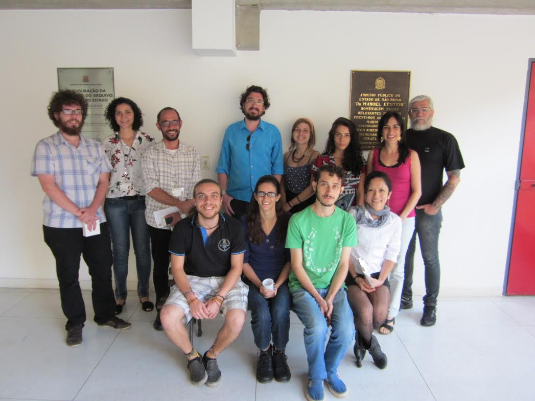 Encontro: Nos dias 5 e 11 de fev. a equipe do Arquivo foi visitar as novas instalações do Arquivo do Estado de São Paulo. Foram muitas trocas de experiências e tardes repletas de aprendizado! Agradecemos a equipe do Arquivo pela atenção!