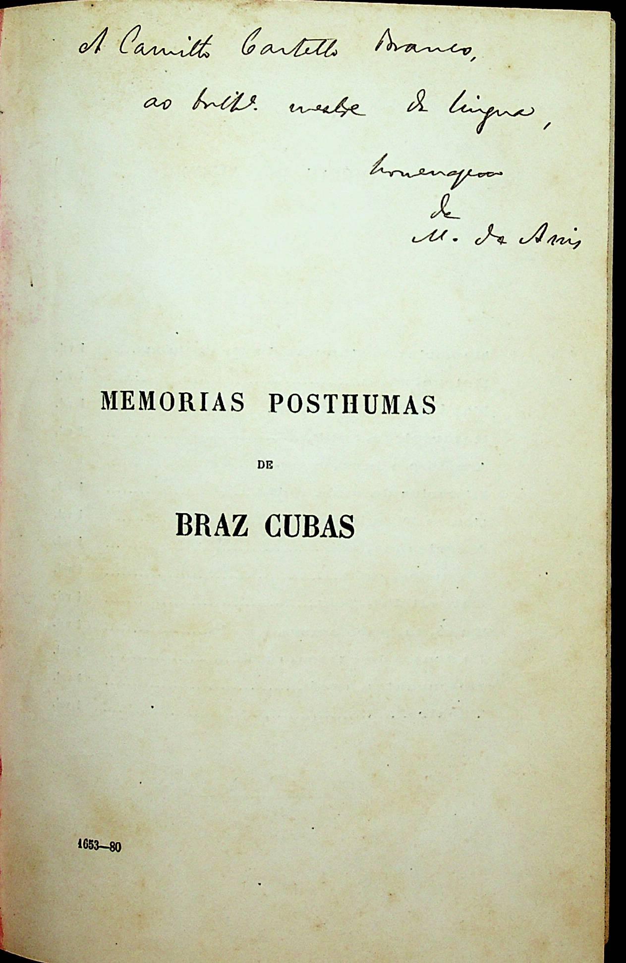 A letra de Machado de Assis é como a sua?